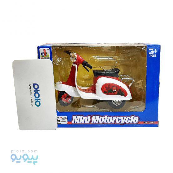 ماکت موتور وسپا مدل MINI MOTORCYCLE