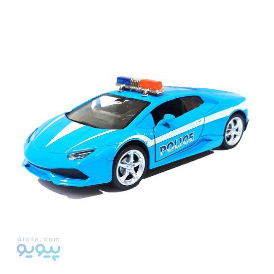 ماکت ماشین پلیس مدل لامبورگینی