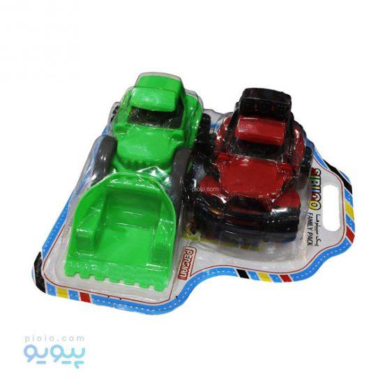 پک اسباب بازی ماشین مدل Sibiloo