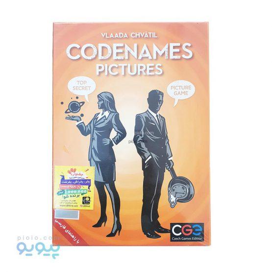 بازی فکری Codenames مدل Picture