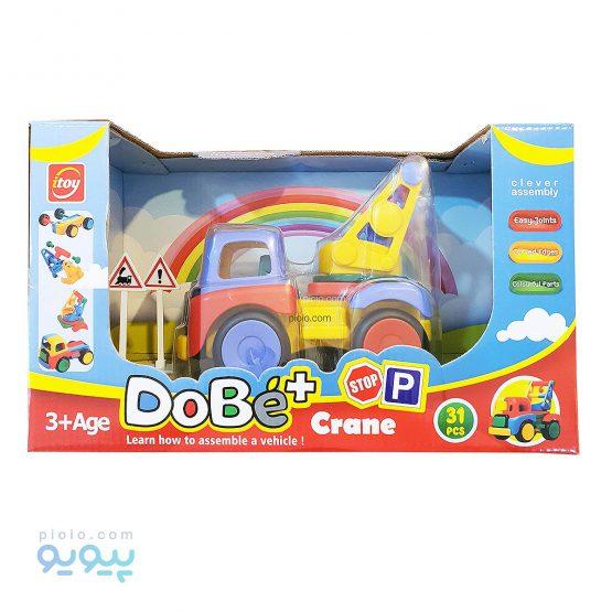 ساختنی ماشین دوبی جرثقیل
