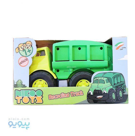 ساختنی ماشین کامیون بازیافت