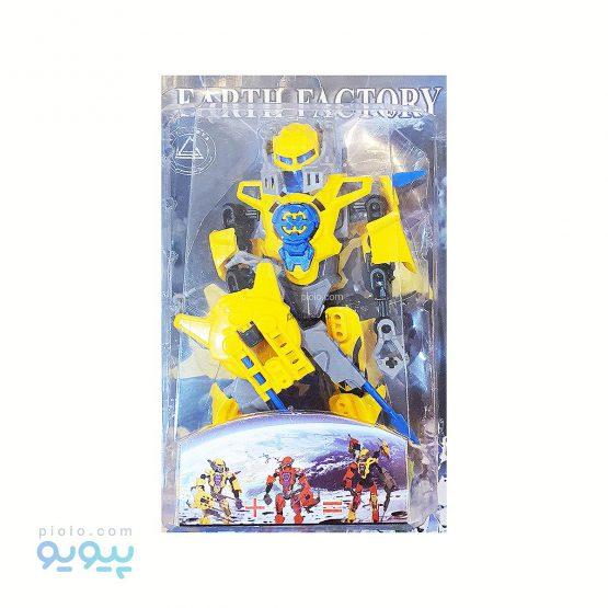 ساختنی مفصلی هیرو زرد آبی