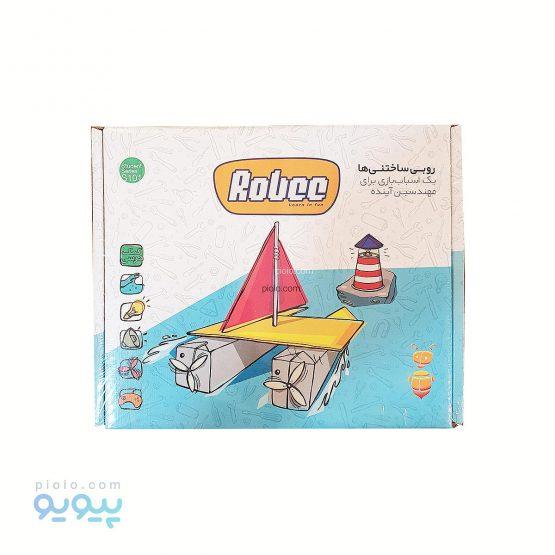 ساختنی ربات قایق روبی کاریز