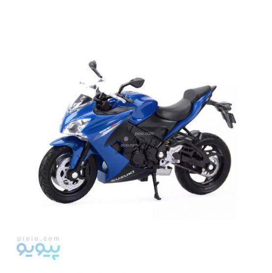 ماکت موتورسیکلت ویلی مدل GSX-S1000F
