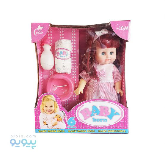 عروسک BABY BORN شش تکه
