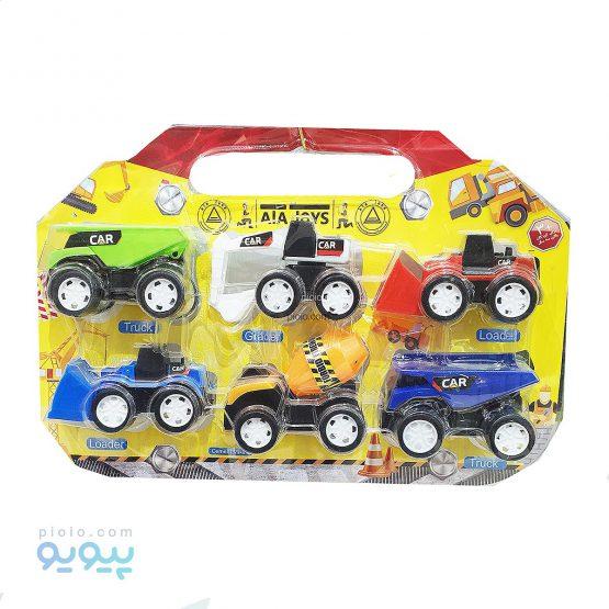 اسباب بازی ماشین های ساخت و ساز