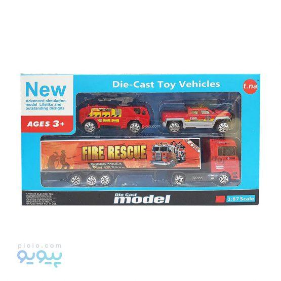 ماشین اسباب بازی مدل Fire Rescue