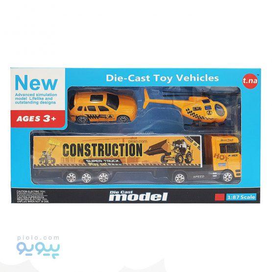 ماشین اسباب بازی مدل Construction