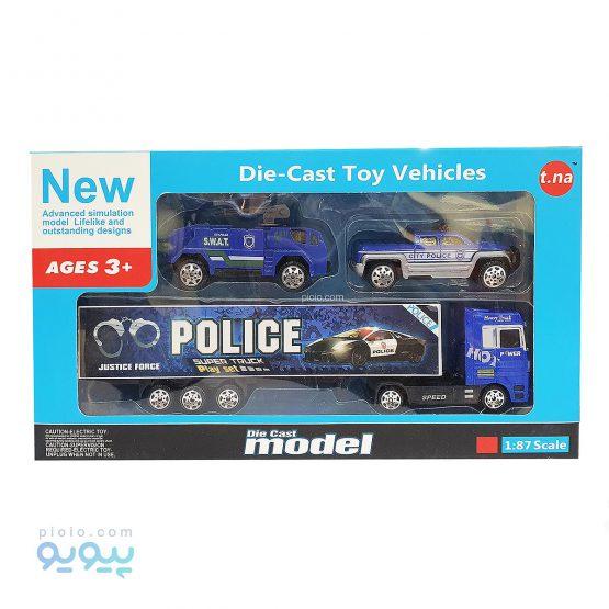 ماشین اسباب بازی مدل Police
