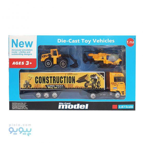 اسباب بازی ماشین مدل Construction