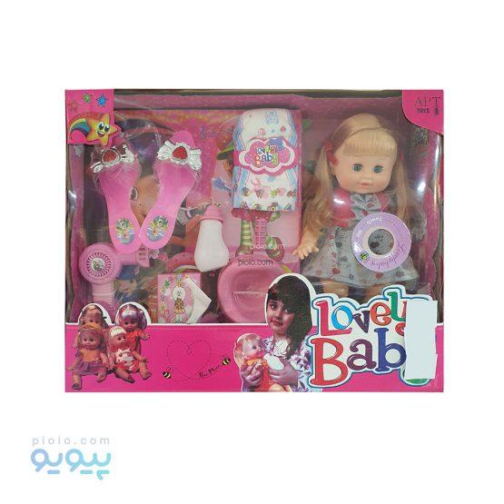 عروسک پوشکی آوازخوان Lovely Baby