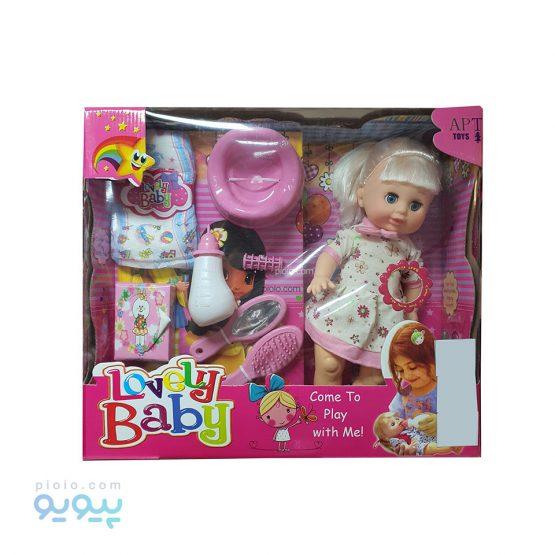 عروسک پوشکی Lovely Baby موزیکال