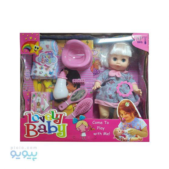 عروسک پوشکی Lovely Baby آوازخوان