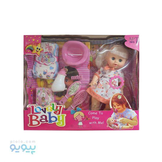 عروسک پوشکی Lovely Baby مدل آوازخوان