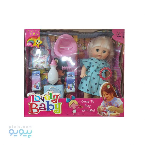 عروسک Lovely Baby مدل پوشکی