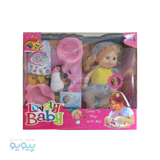 عروسک موزیکال پوشکی Lovely Baby
