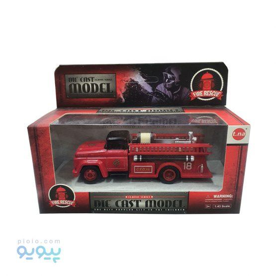 ماشین فلزی آتش نشانی مدل Fire Rescue