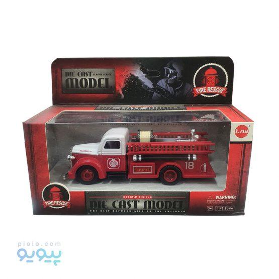 ماشین فلزی مدل Fire Rescue