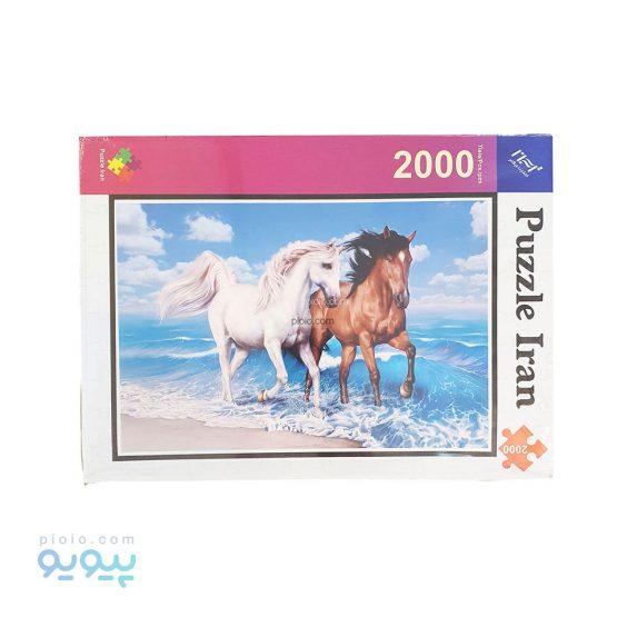 پازل 2000 تکه طرح اسب