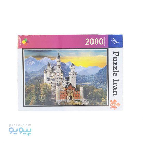 پازل 2000 تکه طرح قلعه آلمانی