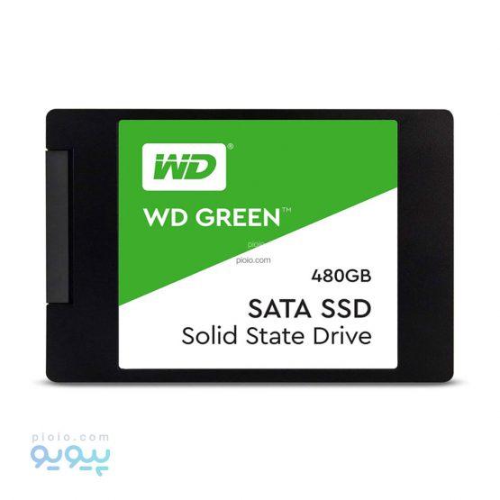 اس اس دی وسترن دیجیتال Green