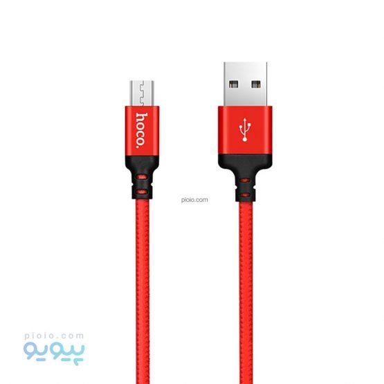 کابل تبدیل USB به MicroUSB مدل X14