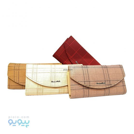 کیف پول زنانه چرم مصنوعی کد A1035
