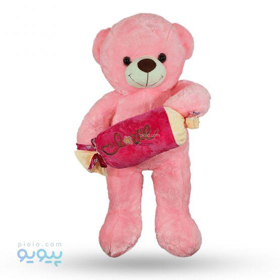 عروسک خرس شکلات به دست مناسب برای ولنتاین