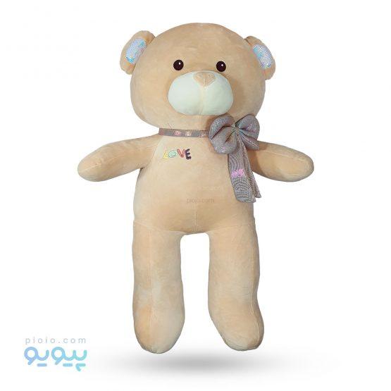 عروسک خرس پاپیون دار مناسب ولنتاین