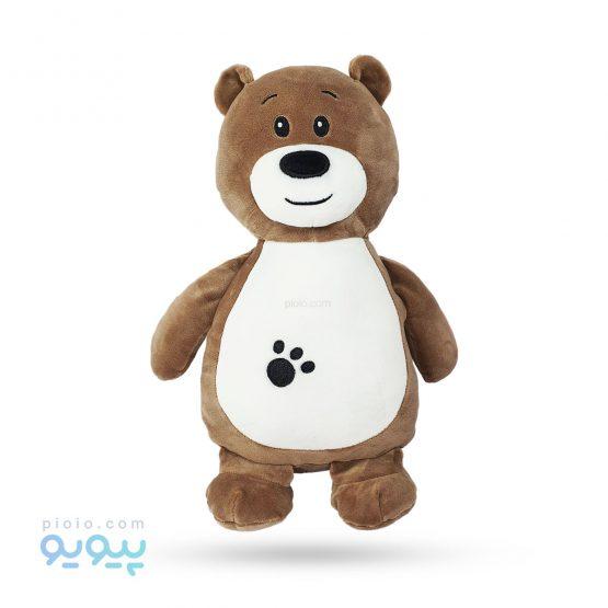 عروسک خرس نرم قهوه ای