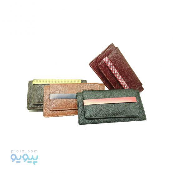 کیف پولی زنانه چرم کد 621