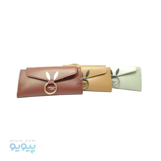 کیف پول زنانه چرم مصنوعی کد E1205