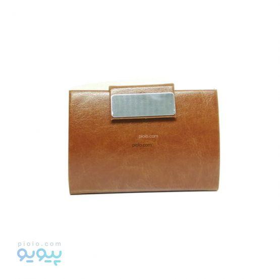 کیف جاکارتی چرمی و فلزی شیک