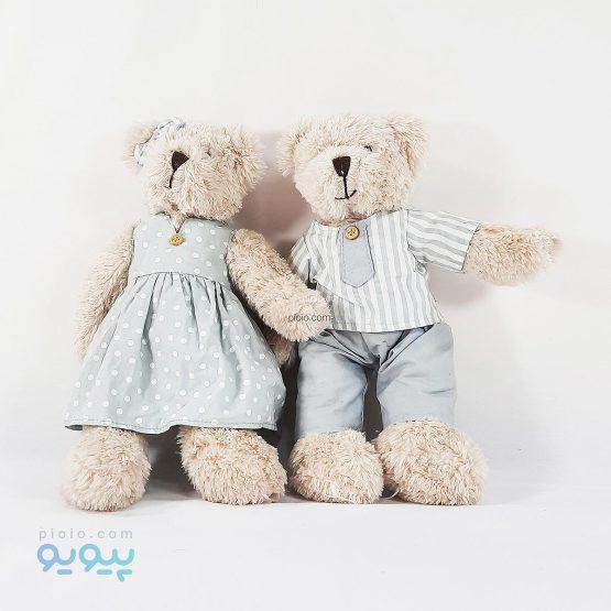 عروسک خرس زوج کوچک