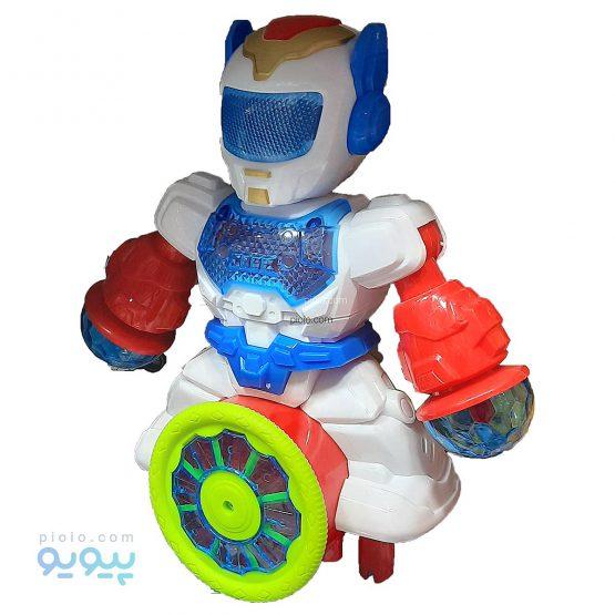 ربات مدل رقصنده چرخشی