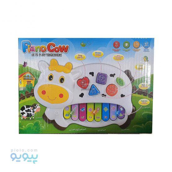 پیانو اسباب بازی مدل Piano Cow