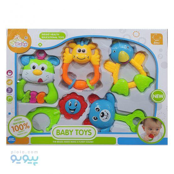ست جغجغه مدل Baby Toys