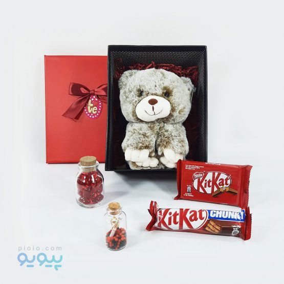 کادو ولنتاین با عروسک خرس پنبه ای