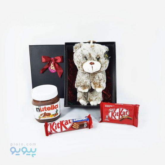 کادو ولنتاین با عروسک خرس آویز