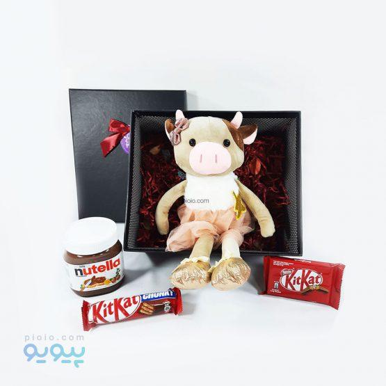 هدیه ولنتاین با عروسک خوک شاخدار