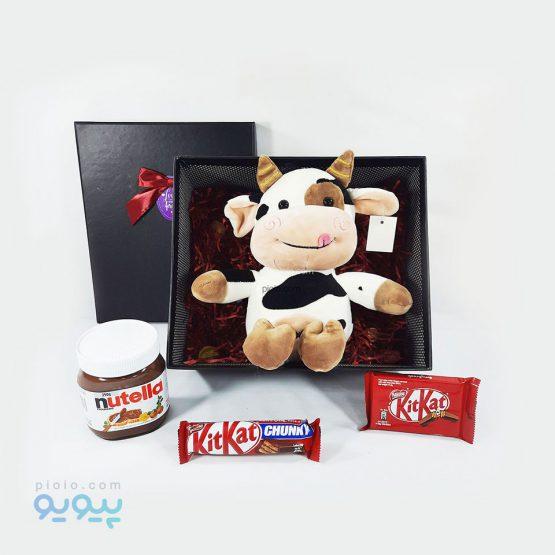 هدیه ولنتاین با عروسک گاو