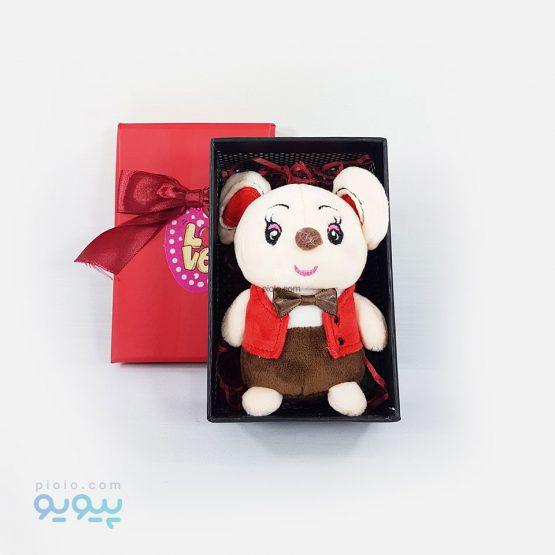 کادو روز ولنتاین با عروسک موش