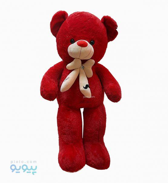 عروسک خرس پاپیون سیبیل