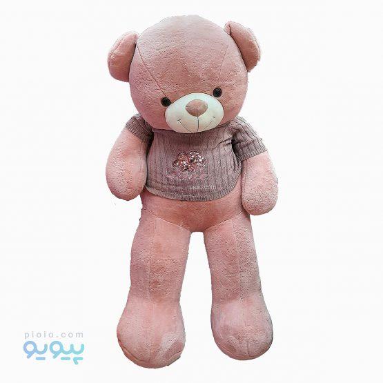 عروسک خرس ژاکت دار