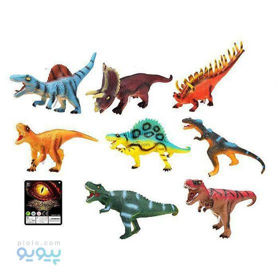 فیگور دایناسور 8 عددی