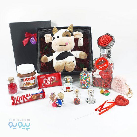 هدیه روز ولنتاین با عروسک گاو