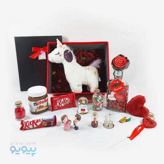 کادو لاکچری ولنتاین با عروسک اسب
