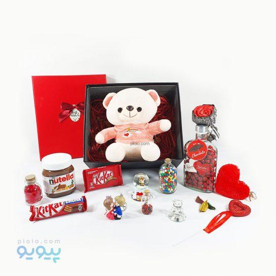 کادو لاکچری ولنتاین با عروسک خرس