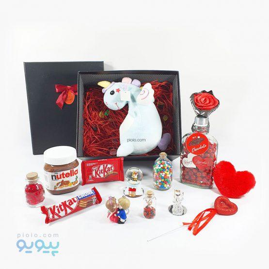 هدیه لاکچری ولنتاین با عروسک دایناسور